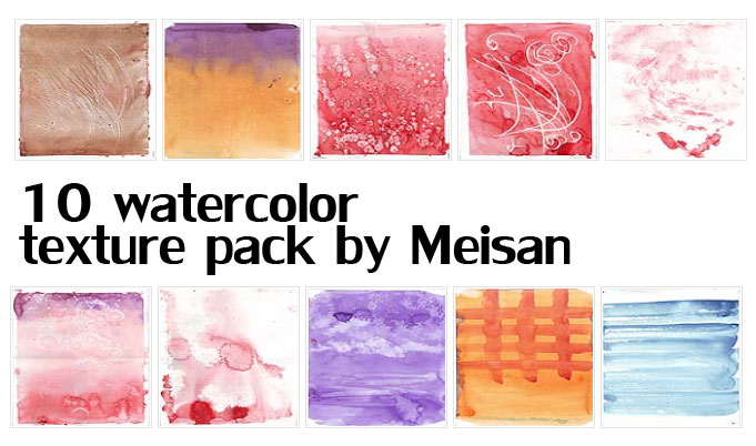 Watercolor Texture Pack 2