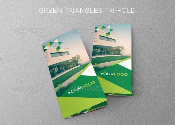 Green Triangles Trifold