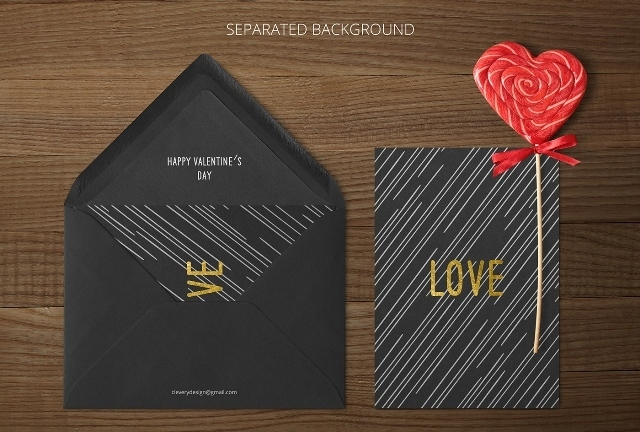 Photorealistic Invitation & Greeting Card Mock-Up