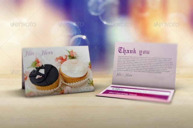 Thanks Card Mockup