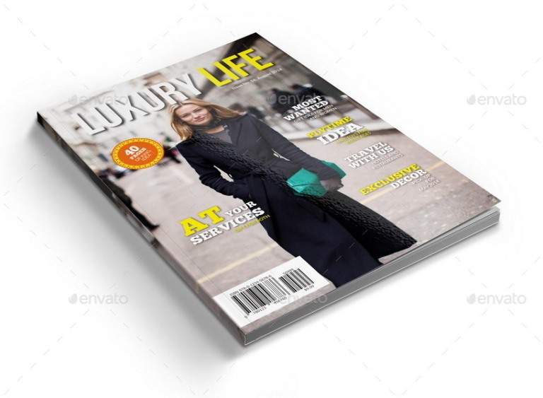 3 Series Magazines Bundle Template - 120 Pages