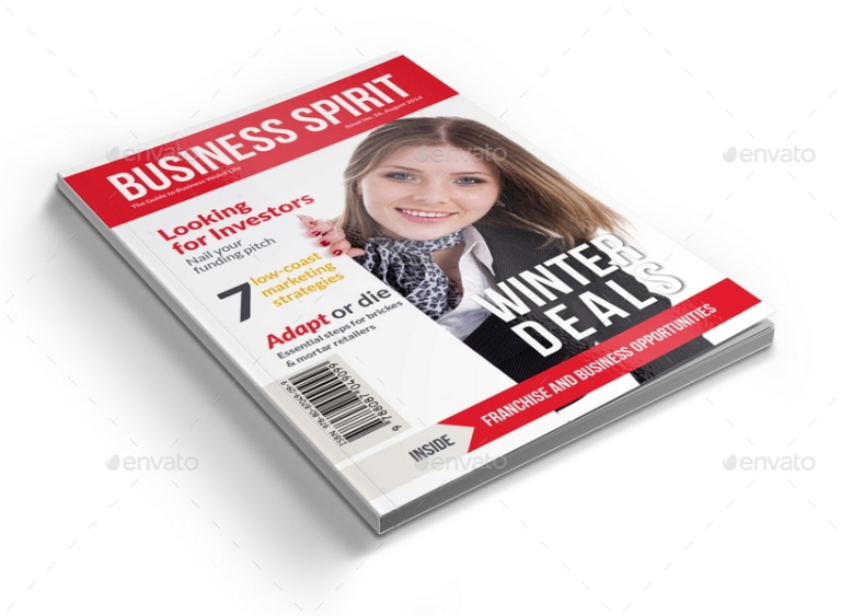 3 Series Magazines Bundle Template