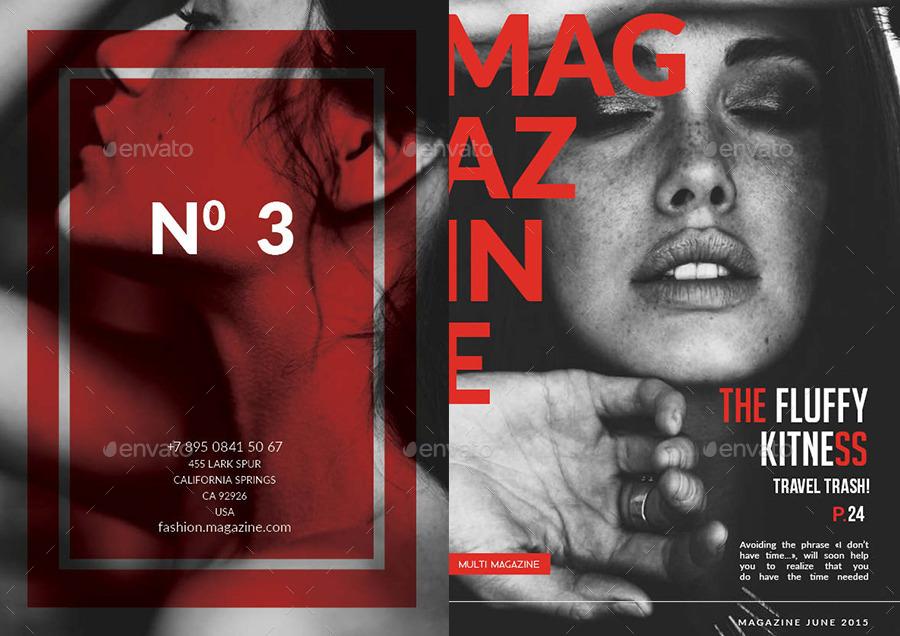30 Pages Multipurpose Magazine