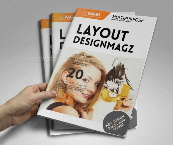 42 Pages Magazine Template
