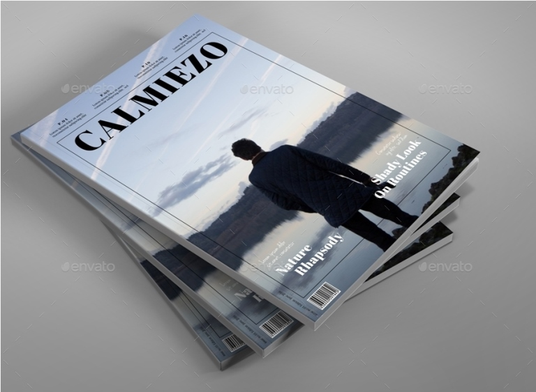 Calm Look Magazine Template