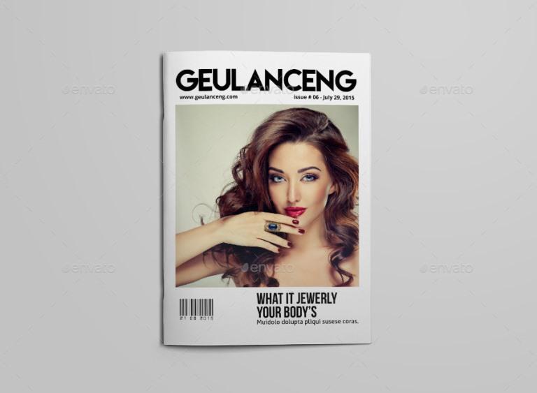 Geulanceng Magazine A4/US Letter