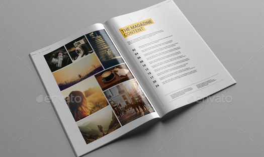 GLATT Multipurpose Magazine Template