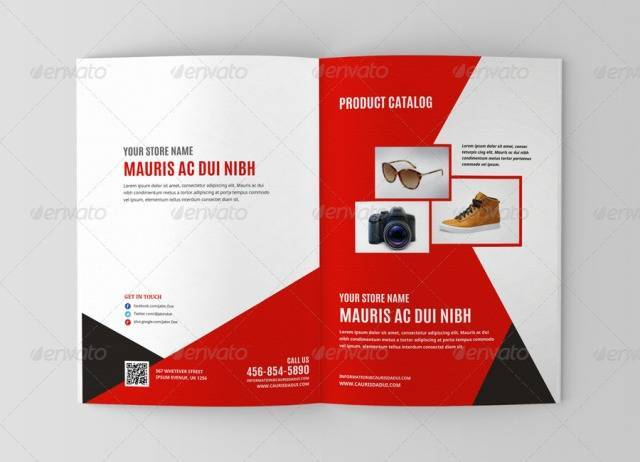 Product Promotion Brochure Template (8 Page)