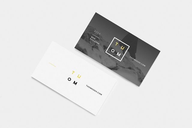 7+ Clean Business Card Mockup