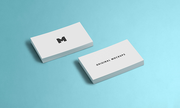 Business Card Mockup 03