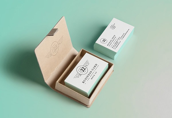PSD Business Card MockUp #2