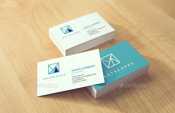 Realistic Business Card Mockups v.2