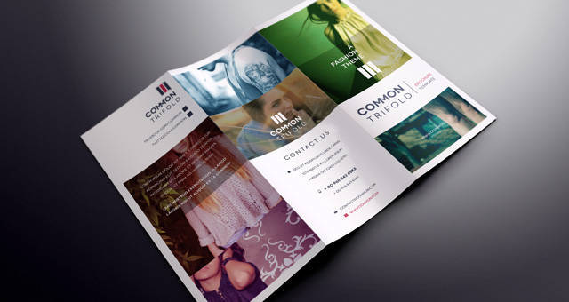 Simple Tri Fold Brochure Template (Free)