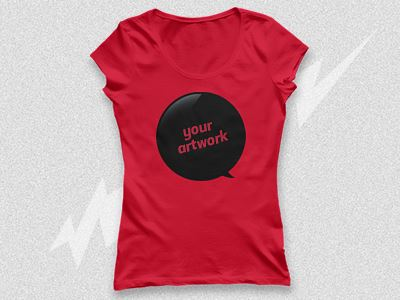 Free Ladies T Shirt Mockup