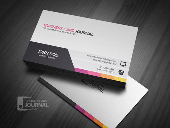 Unique & Modern Corporate Business Card Template