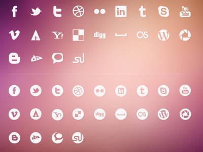 Luketctaylor Social Icons Kit