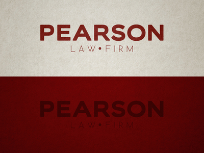 Pearson Law Firm Logo