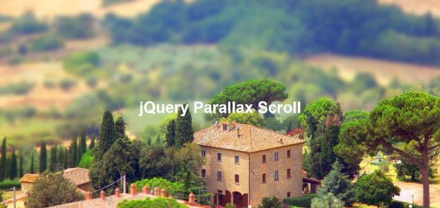 Parallax Scroll jQuery parallax plugin
