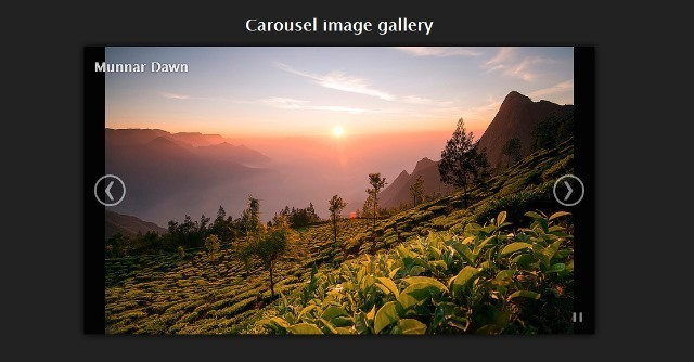 blueimp Gallery jQuery Carousel Slider Plugin