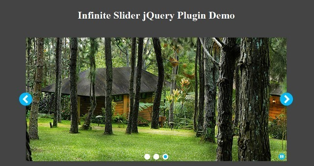 Infinite Slider jQuery Carousel Plugin