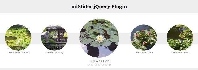 miSlider jQuery Carousel Plugin