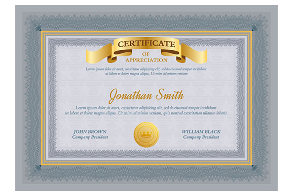 photoshop certificate template 20 free and premium psd certificate templates webprecis