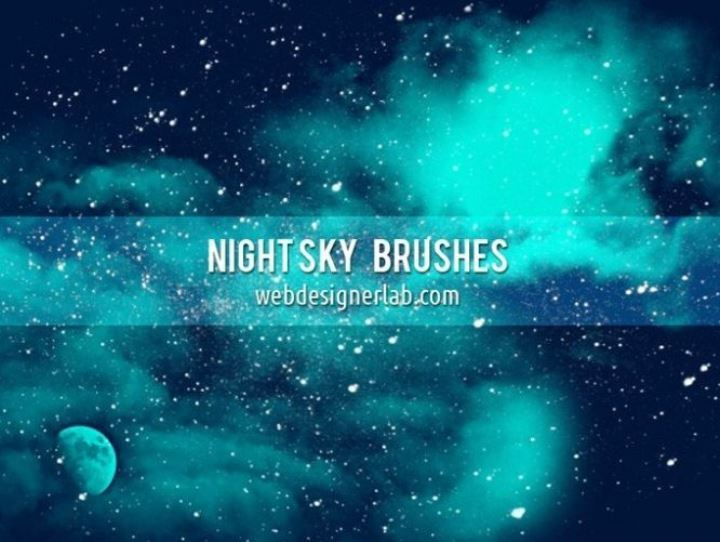 Night Sky Free Brushes