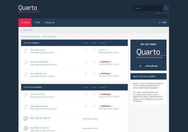 Metro — a responsive theme for phpbb3 free download nulledscriptbase.