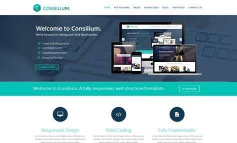 Consilium Multipurpose Creative Drupal Theme