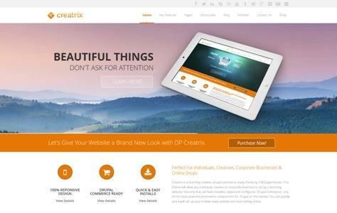 Creatrix Drupal Commerce, Multipurpose Theme
