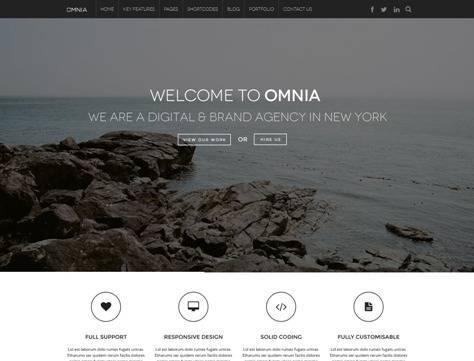 Omnia Multi Purpose Agency Drupal Theme