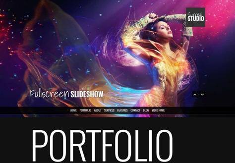 Surreal One Page Parallax Drupal Theme