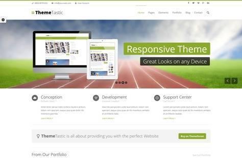 ThemeTastic Flat Responsive Drupal Theme