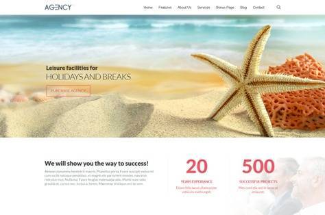 Agency Corporate Clean Joomla Template