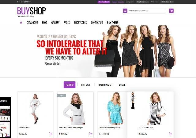 BuyShop Premium Responsive Virtuemart Theme