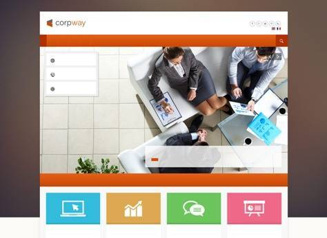 Corpway Business Joomla Template