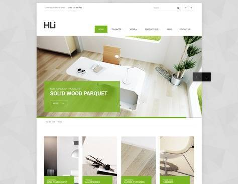 HLI Responsive Corporate Joomla Template