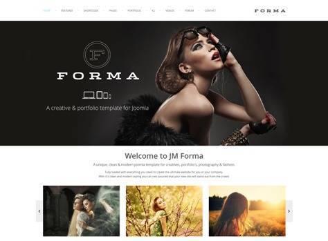 JM Forma Responsive Multi Purpose Joomla Template