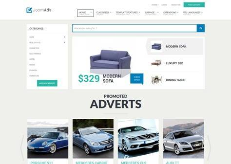 JoomAds Joomla classifieds portal