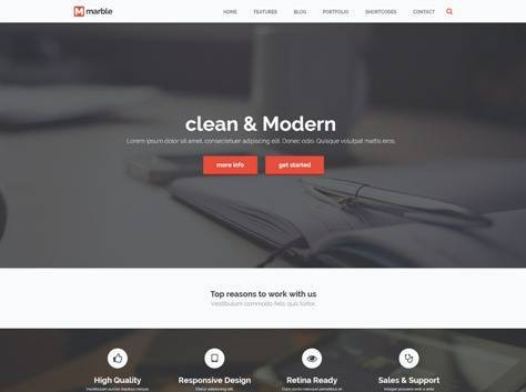 Marble Multipurpose Joomla Template