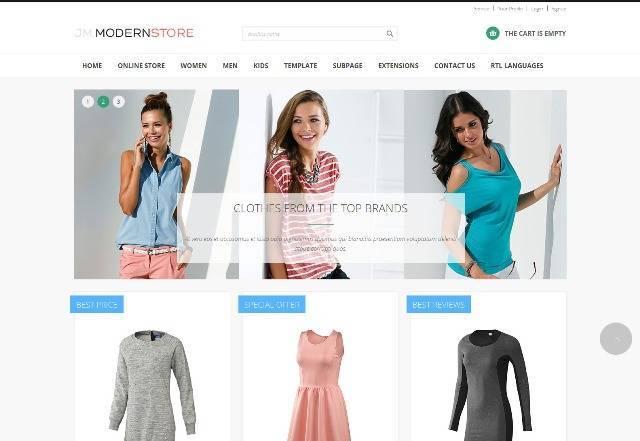 Modern Store Responsive eCommerce Joomla Theme
