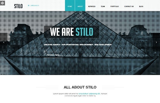 Stilo One Page Multipurpose Joomla Template