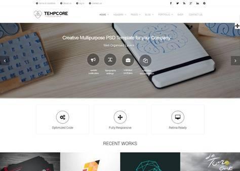 Tempcore Multipurpose Joomla Template