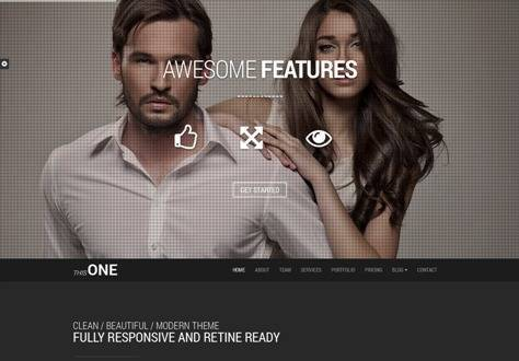 This One - One Page Responsive Joomla Template