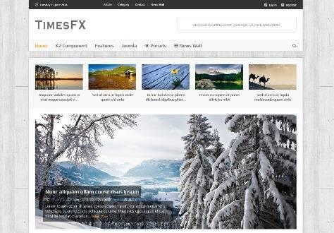 TimesFX Responsive Joomla Template