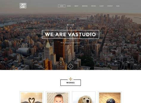 Vastudio Creative One Page Joomla Template