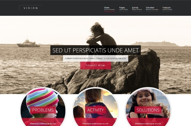 Vision Ultimate Nonprofit Joomla Theme