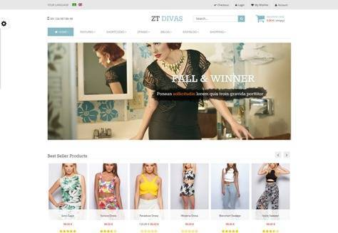 ZT Divas multi-purpose joomla template