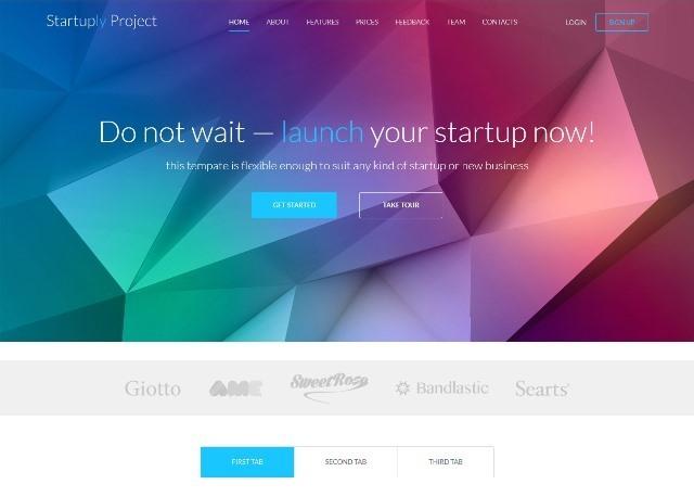 Startuply Responsive Multi-Purpose Landing Page
