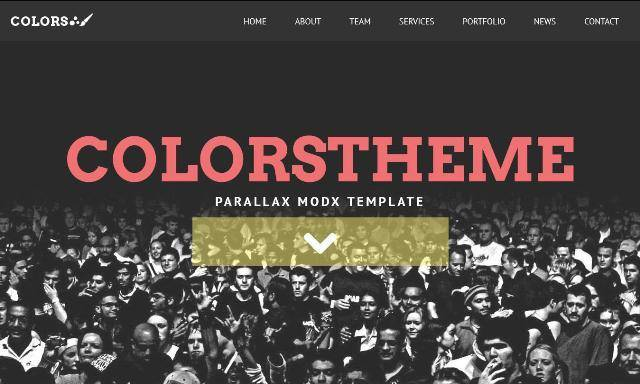 Colors MODX Creative Theme